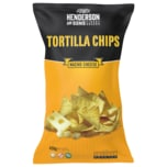 Henderson and Sons Tortilla Chips Nacho Cheese 450g