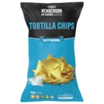 Henderson and Sons Tortilla Chips Salty natural 450g