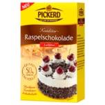Pickerd Raspelschokolade Zartbitter 100g