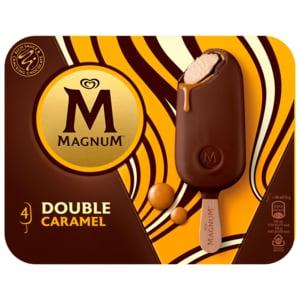 Magnum Double Caramel Familienpackung Eis 4x88ml
