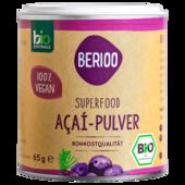 Berioo Bio Acai-Pulver 65g