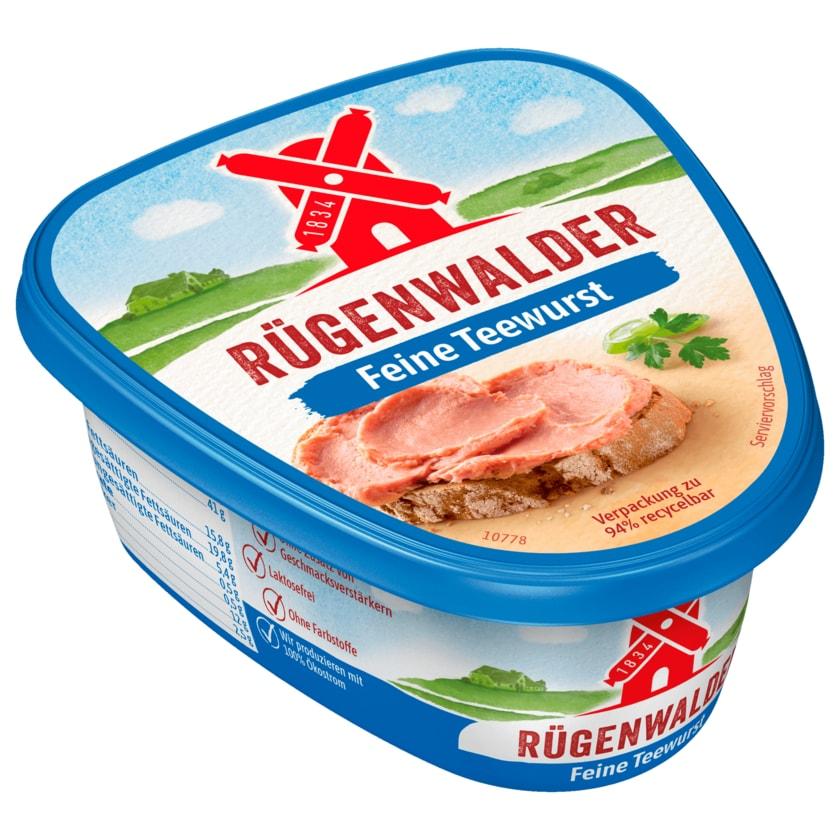 Rügenwalder Mühle Rügenwalder Teewurst fein 125g