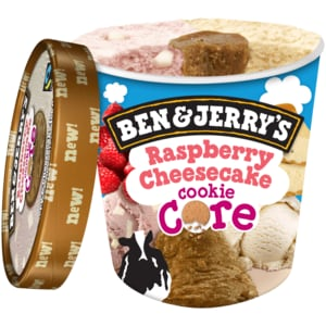 Ben & Jerry's Raspberry Cheesecake Eis 500ml