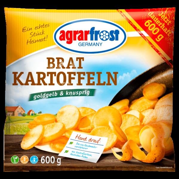 Agrarfrost Bratkartoffeln 600 g
