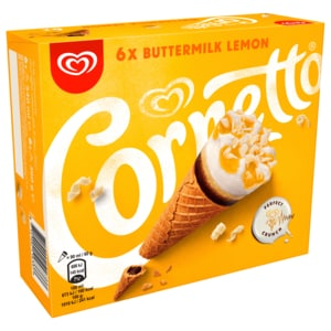 Cornetto Bottermelk Familienpackung Eis 6x90ml