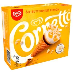 Cornetto Bottermelk Familienpackung Eis 6x90ml