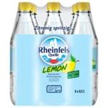 Rheinfels Quelle Mineralwasser Lemon 6X0,5l
