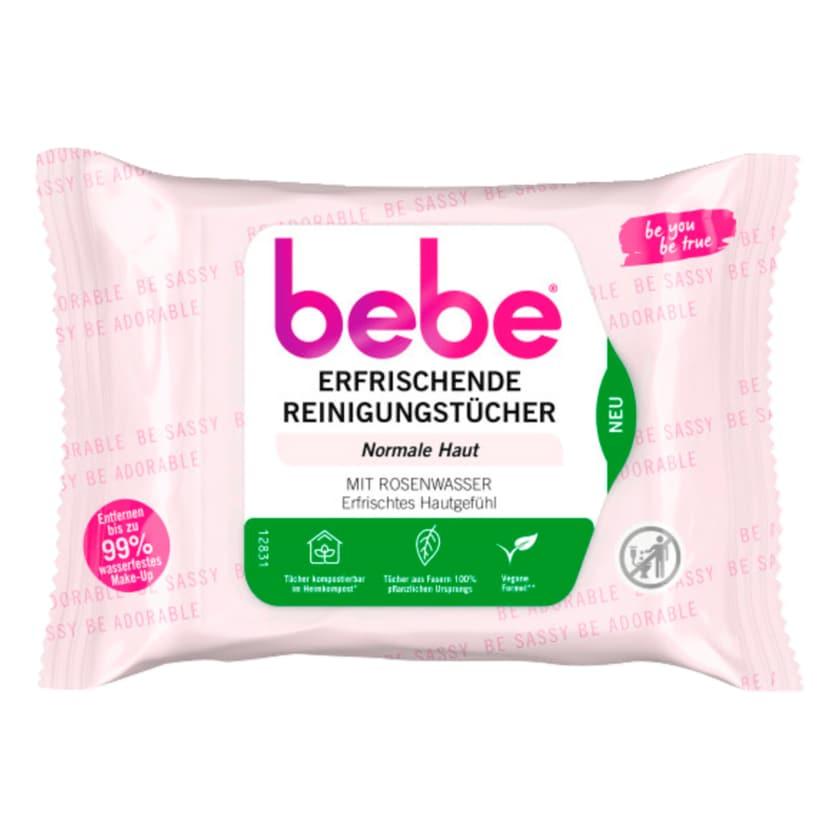 Bebe 5in1 Erfrischende Reinigungstücher 25 Stück