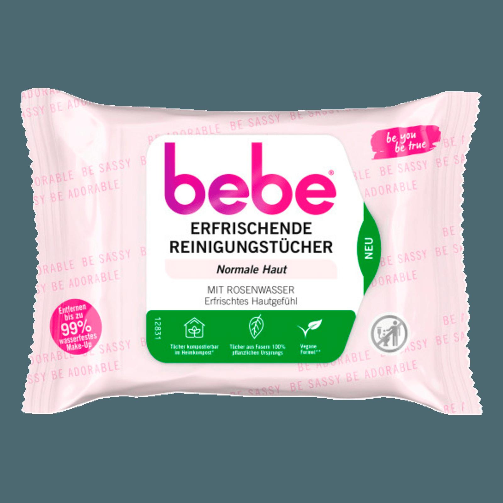 Bebe Young Care 5in1 pflegende Reinigungstücher 25 Stück