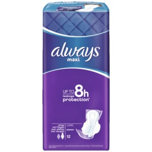 Always Maxi Long Plus 12 Stück