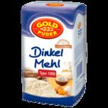 Goldpuder Dinkel Mehl Type 1050 1kg