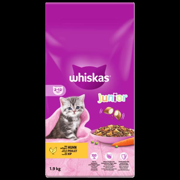 Whiskas Junior 2-12 Monate mit Huhn 1,9kg