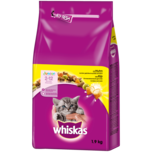 Whiskas Katzenfutter Junior 2-12 Monate mit Huhn 1,9kg