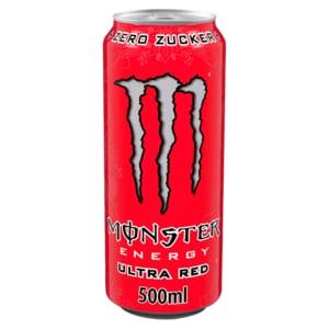 Monster Energy Ultra Red 0,5l