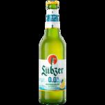 Lübzer Zitrone naturtrüb alkoholfrei 0,5l