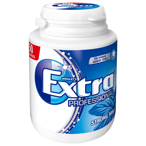 Wrigley's Extra Professional Strong Mint 50 Stück
