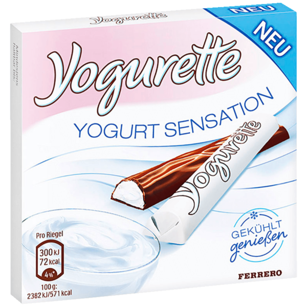 Yogurette Yogurt Sensation 50g
