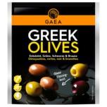 Gaea Greek Olives mariniert mit Basilikum und Zitrone 150g