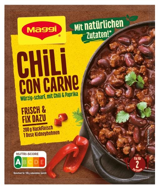 maggi fix f r chili con carne 33g bei rewe online bestellen. Black Bedroom Furniture Sets. Home Design Ideas
