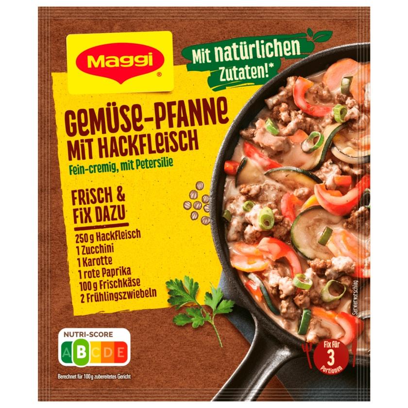 Maggi Fix für Gemüse-Pfanne mit Hackfleisch 37g