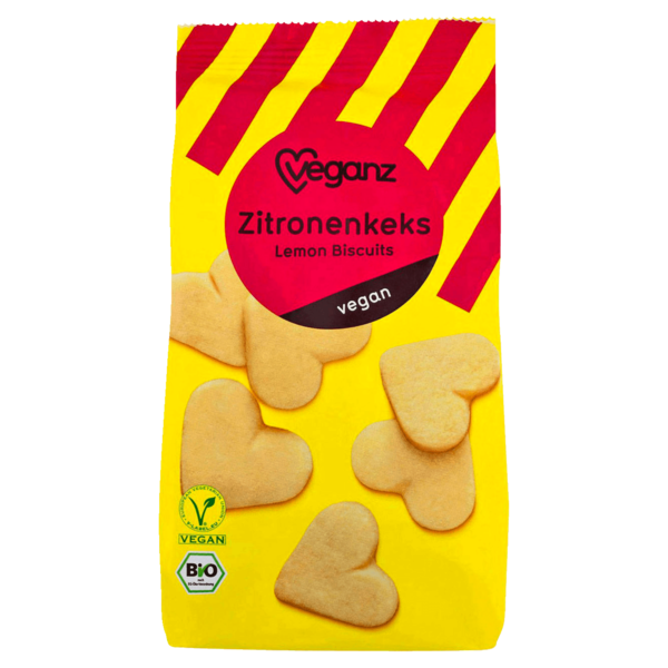 Veganz Bio Zitronenkeks 150g