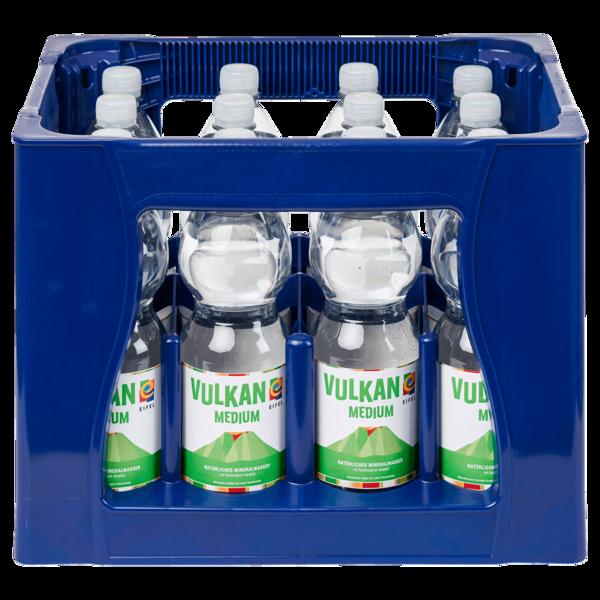 Vulkanius Mineralwasser medium 12x1l