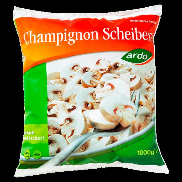 Ardo Champignon-Scheiben 1kg
