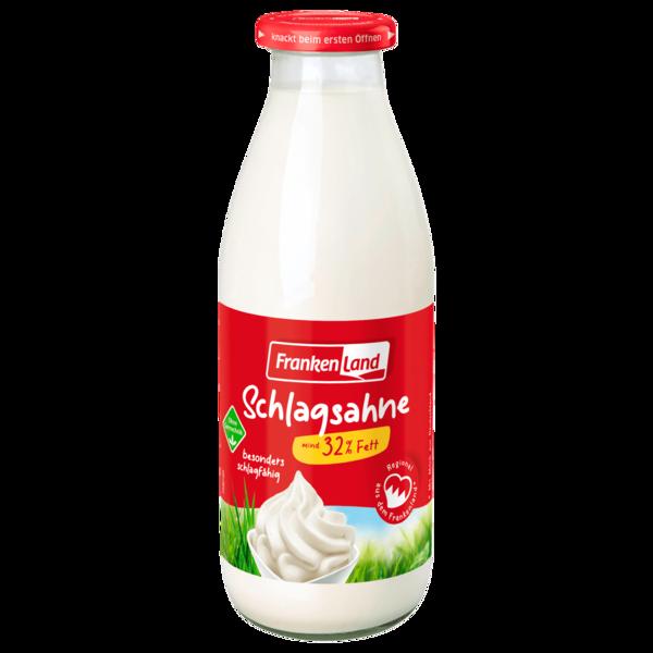 Frankenland Frankenmilch Schlagsahne 32% 500g