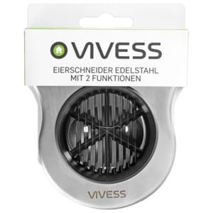 Vivess Eierschneider Edelstahl