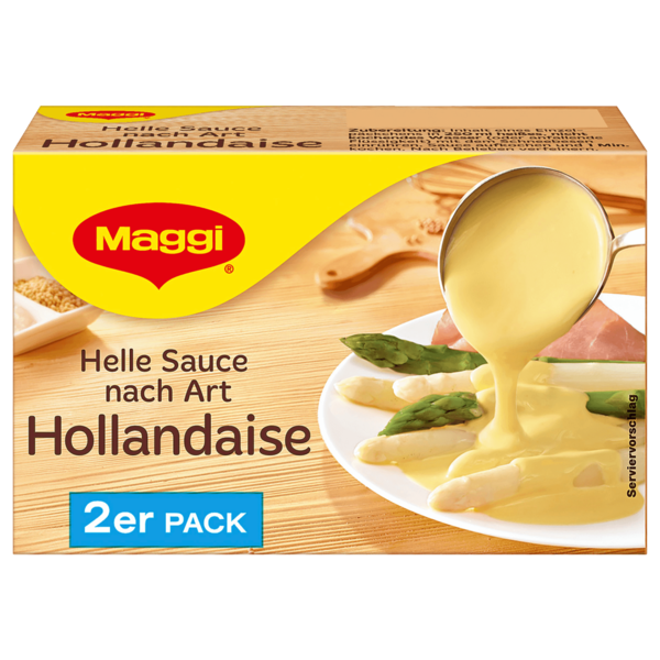 Maggi Helle Sauce nach Art Hollandaise 2er Pack ergibt 2x250ml