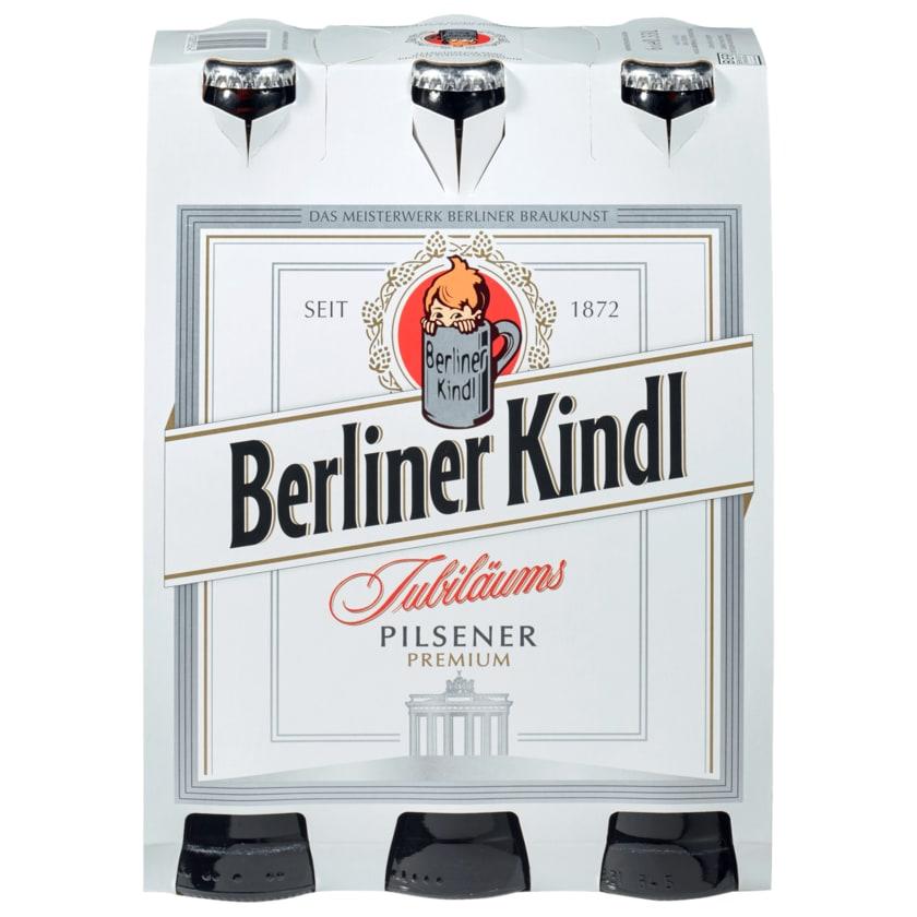 Berliner Kindl Jubiläums-Pilsener 6x0,33l