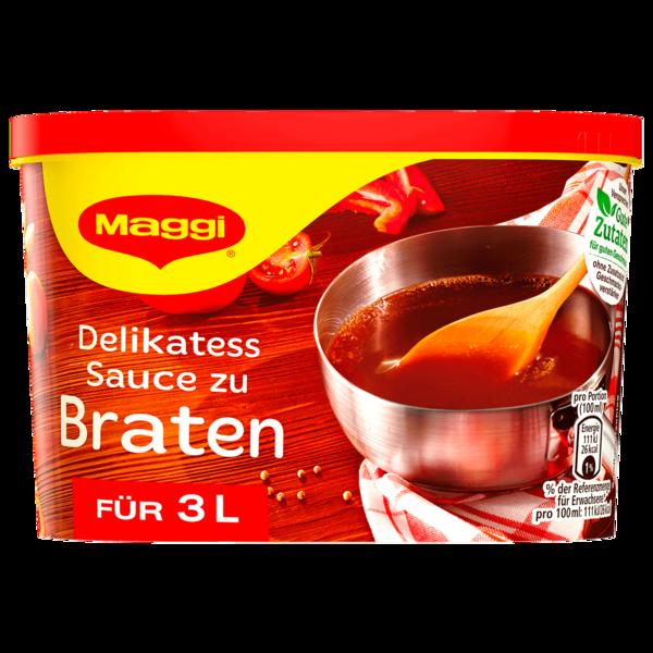 Maggi Delikatess Sauce zu Braten ergibt 3 Liter