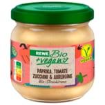 REWE Bio Streichcreme Paprika, Aubergine, Zucchini & Tomate 180g