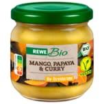 REWE Bio Aufstrich Mango-Papaya-Curry 180g