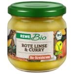 REWE Bio Aufstrich Linse Curry 180g