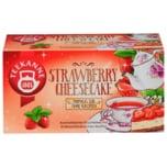 Teekanne Strawberry Cheesecake 40,5g, 18 Beutel