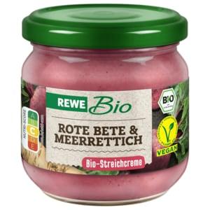 REWE Bio Streichcreme Rote Bete-Meerrettich 180g