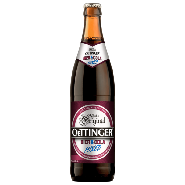 Original Oettinger Mixed Bier und Cola 0,5l