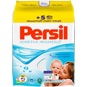 Persil Vollwaschmittel Sensitiv Megaperls 1,48kg, 20WL