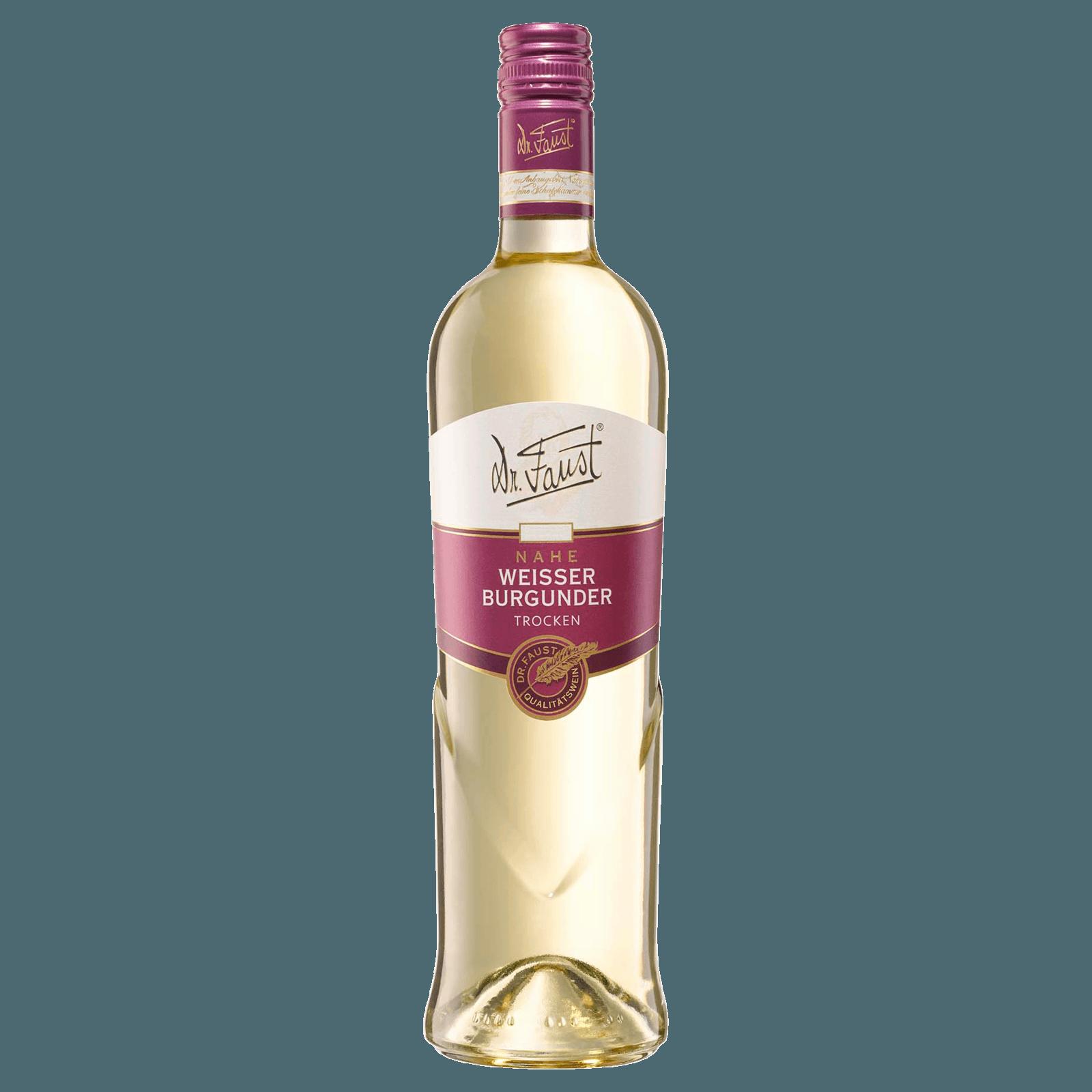 Dr. Faust Weißwein Weißer Burgunder trocken 0,75l