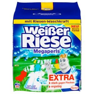 Weißer Riese Vollwaschmittel Megaperls 1,35kg, 20WL
