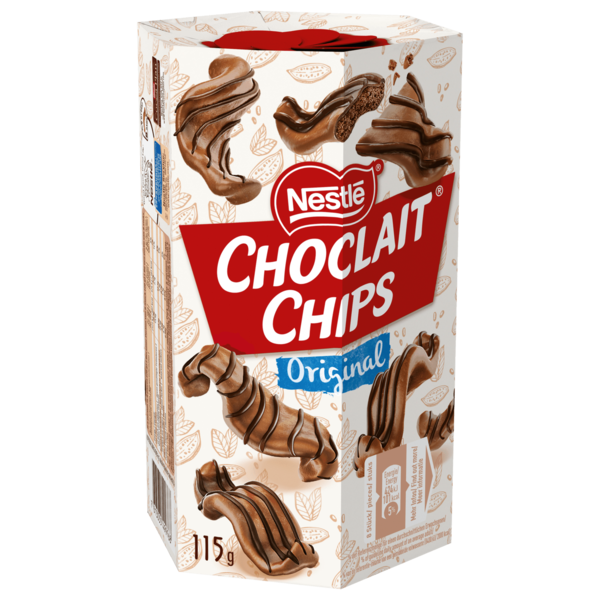 Nestlé Choclait Chips Original 115g
