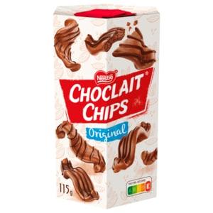 Nestlé Choclait Chips Schokochips Milchschokolade 115g