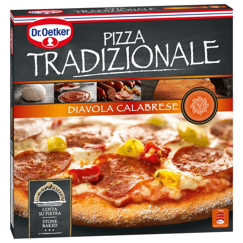 Dr. Oetker Tradizionale Diavola Calabrese 345g