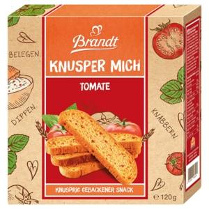 Brandt Knusper Mich Tomate Oregano 120g