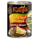 FUEGO Refried Beans Schwarze Bohnen 430g