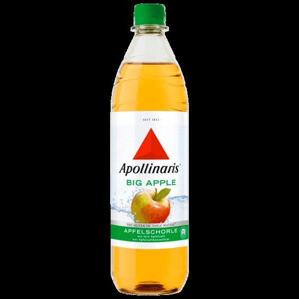 Apollinaris Big Apple Apfelschorle 1l