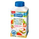 Milram Buttermilch Drink Rhabarber-Erdbeere 500g