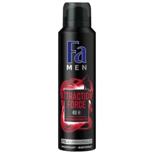 Fa Deospray Men Attraction Force 150g