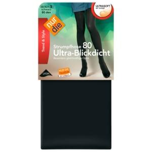 Nur die Ultra-Blickdicht Strumpfhose schwarz 40-44
